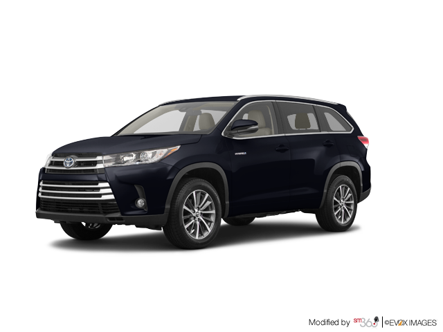 2017 toyota highlander hybrid awd xle neuf en inventaire angers toyota saint hyacinthe. Black Bedroom Furniture Sets. Home Design Ideas