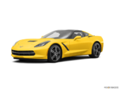 Jaune Corvette racing