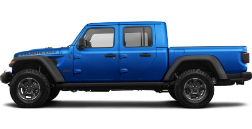 Hydro Blue Jeep Gladiator Rubicon