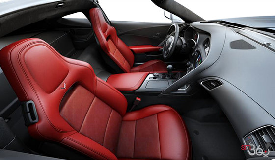 Adrenaline Red Leather/Sueded Microfibre