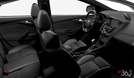 Charcoal Black RS Recaro Leather