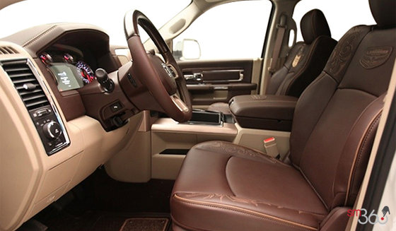 Canyon Brown Premium Perforated Leather w/Laser Etching