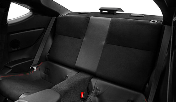 Black Alcantara with Anthracite Black Leather and Red Stitching
