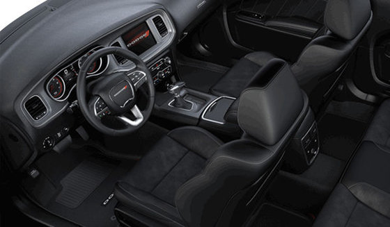 Alcantara Vented Black Leather (CJX9)