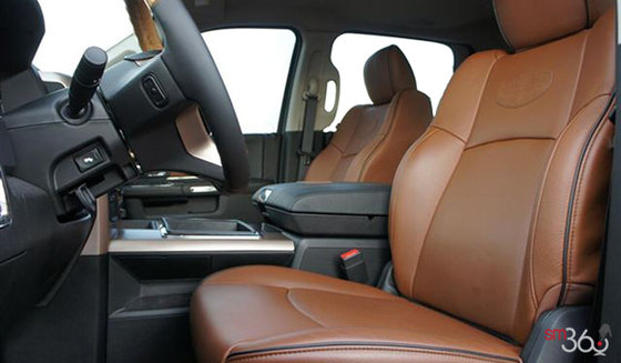 Black Catle Tan Ventilated Leather Buckets Seats (DJXT)