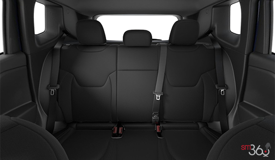Black Cloth Bucket seats, Black Interior (B7XU)