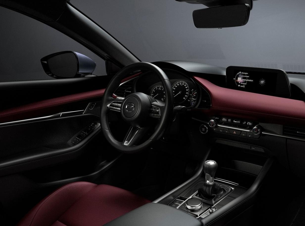 2019 Mazda3 - interior of mazda3