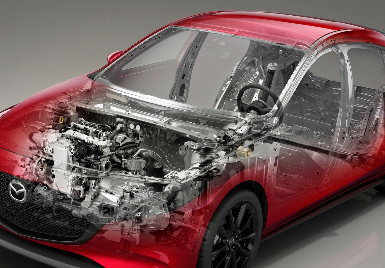 2019 Mazda3 - the interior