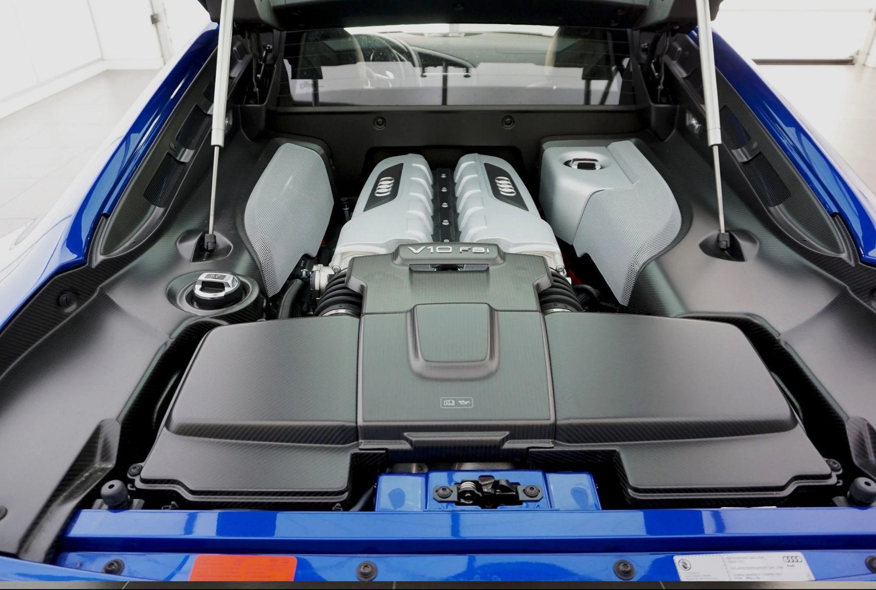 Audi Lauzon | Audi R8 LM 2015 - moteur