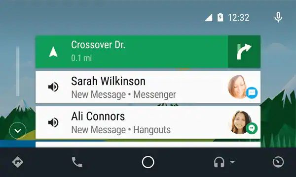 Android Auto and the Audi MMI - Contacts