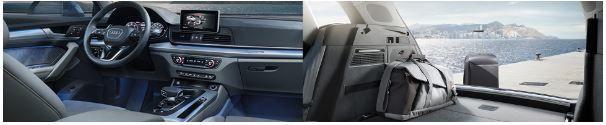 Audi Lauzon | une Audi Q5 vue de l'intérieur