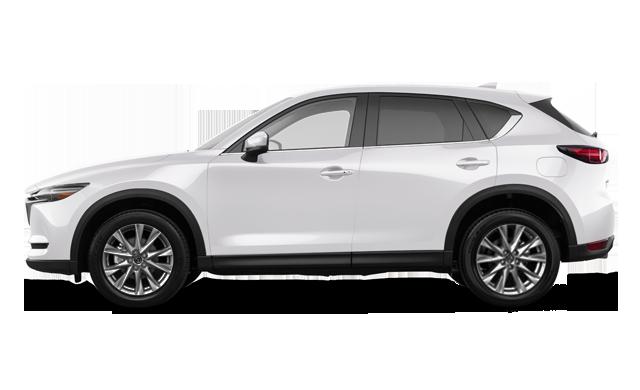 CX-5 2019 diesel de couleur blanc neige
