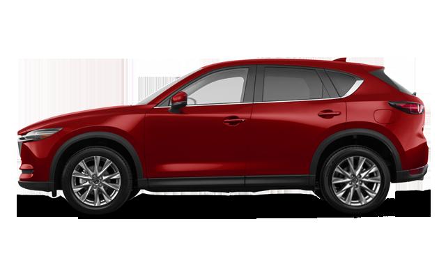 CX-5 2019 diesel de couleur rouge cristal vibrant