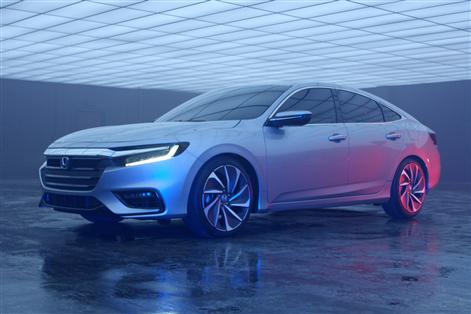 The 2019 Honda Insight will soon be available at Honda de