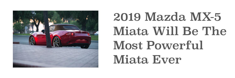 2019 mazda3 - convertible model