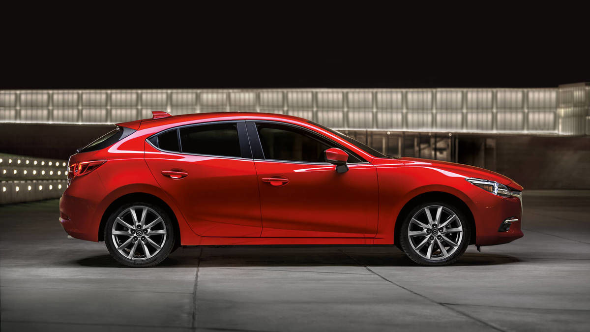 Mazda3 GT Sedan - Side of Red Model