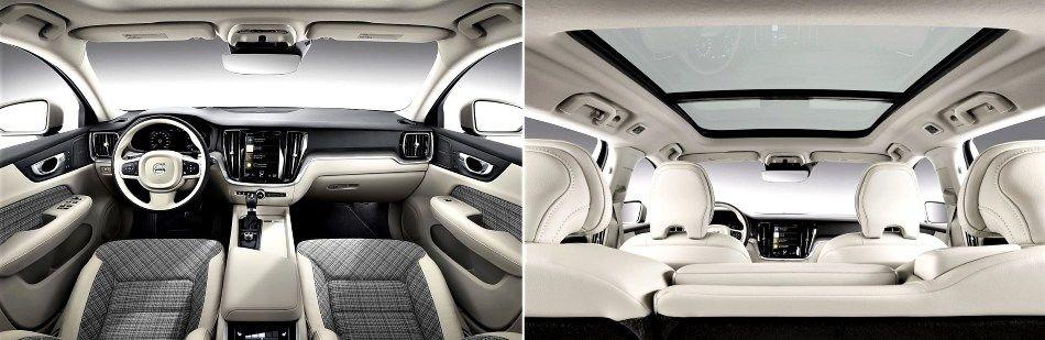 2019 Volvo V60 - seats