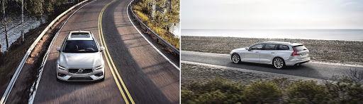 2019 Volvo V60 - driving
