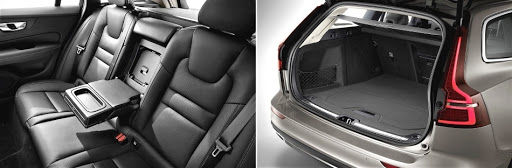 2019 Volvo V60 - leather seats