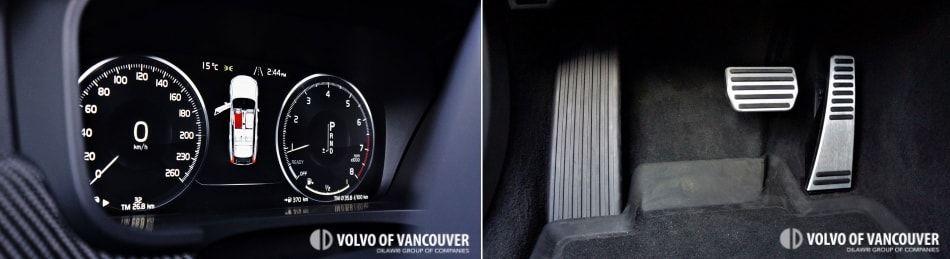 2018 Volvo V90 T6 AWD R-Design - gas pedal