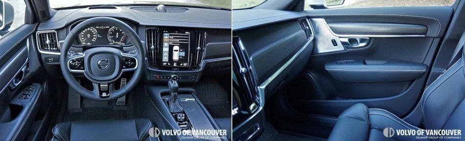 2018 Volvo V90 T6 AWD R-Design - steering wheel