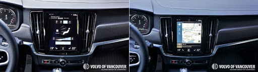 2018 Volvo V90 T6 AWD R-Design - navigation screen