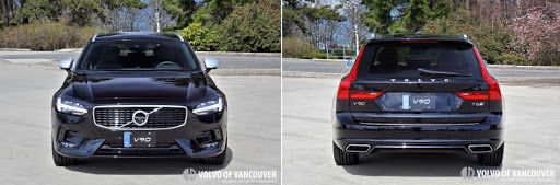 2018 Volvo V90 T6 AWD R-Design - image of front and back
