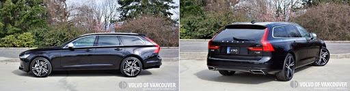 2018 Volvo V90 T6 AWD R-Design - side and back