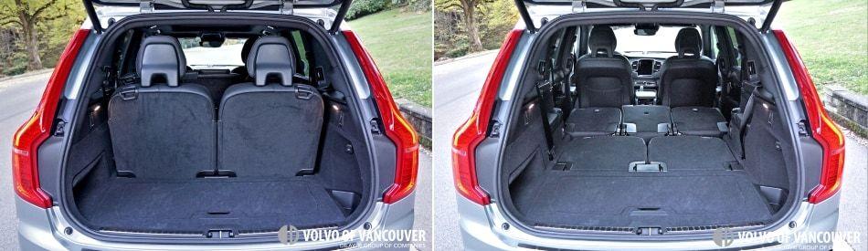 2018 Volvo XC90 T8 eAWD R-Design - trunk
