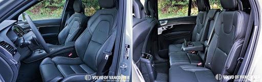 2018 Volvo XC90 T8 eAWD R-Design - front seats