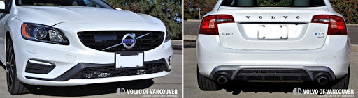 2018 Volvo S60 T5 AWD - front and rear