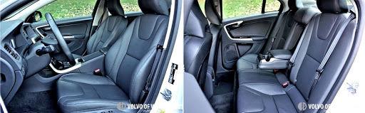 2018 Volvo S60 T5 AWD - seats