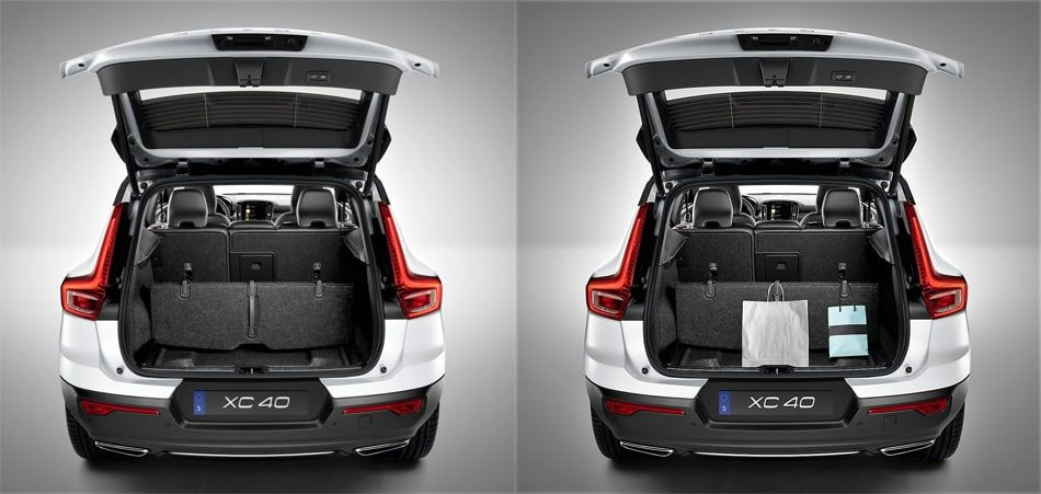 The 2019 Volvo XC40 - trunk