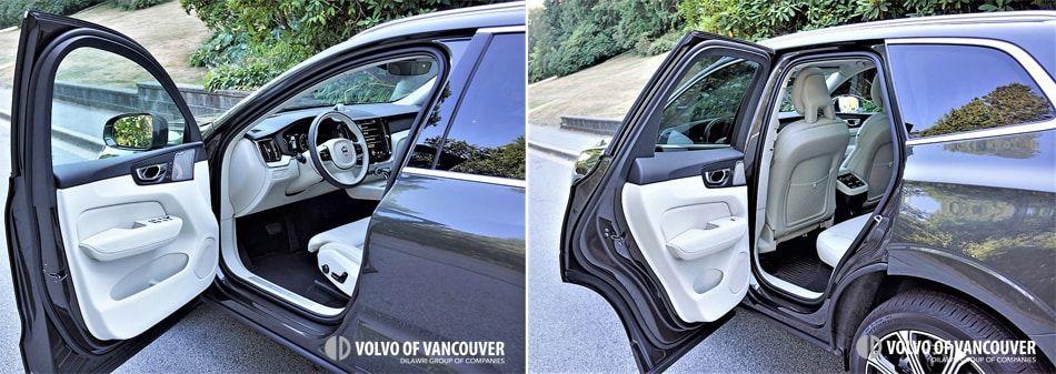 2018 Volvo XC60 T6 AWD - open door