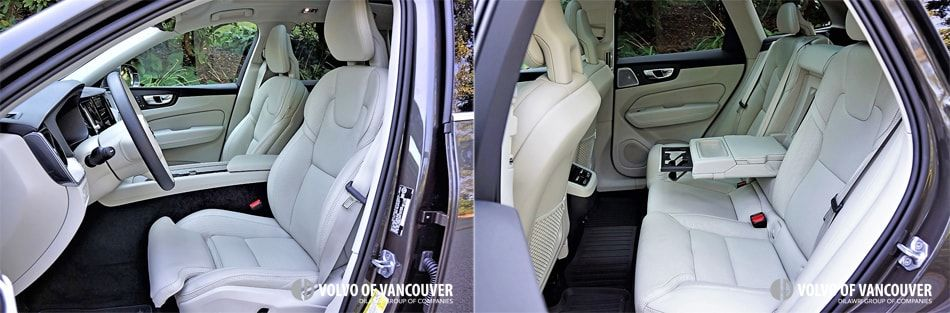 2018 Volvo XC60 T6 AWD - front seat