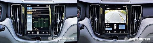 2018 Volvo XC60 T6 AWD - navigation screen