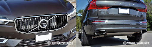 2018 Volvo XC60 T6 AWD - front and back