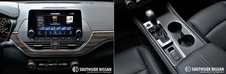 altima one - middle dashboard