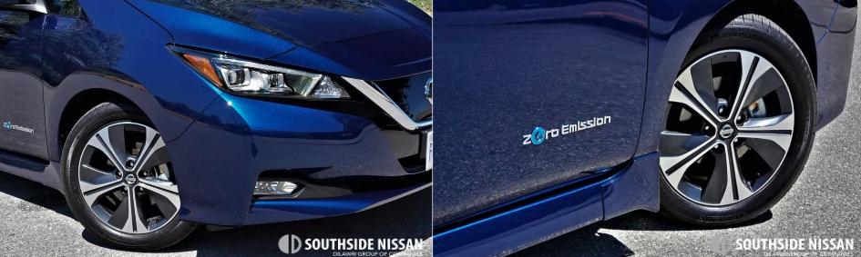 nissan leaf- bottom side of the car