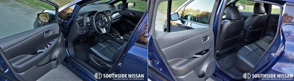 nissan leaf-driver side
