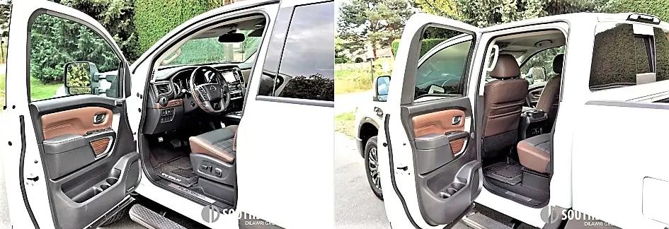 titan xd platinum diesel - doors