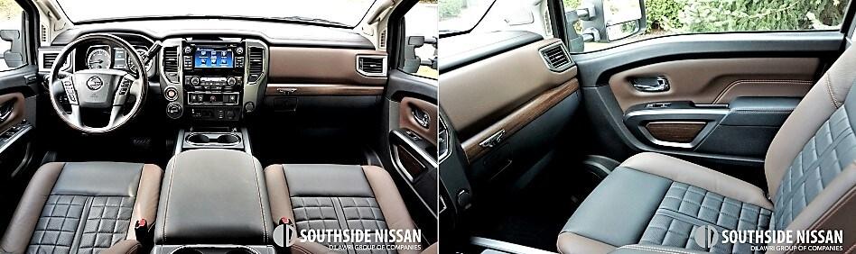 titan xd platinum diesel - front dashboard