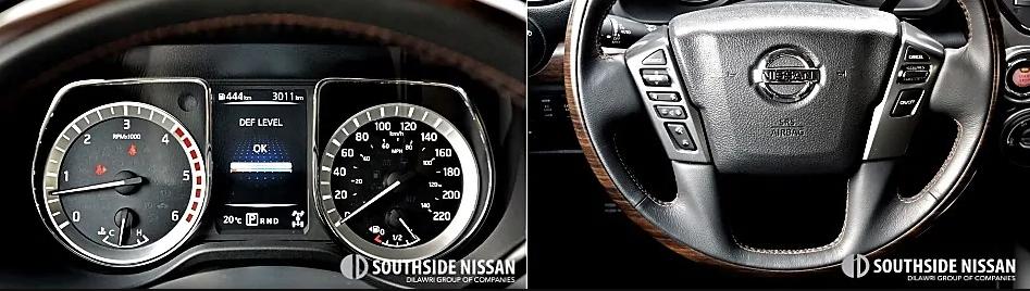 titan xd platinum diesel - wheel and commands