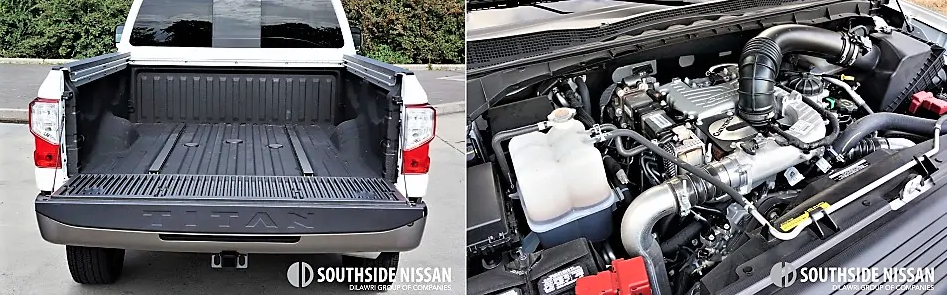 titan xd platinum diesel - trunk and motor