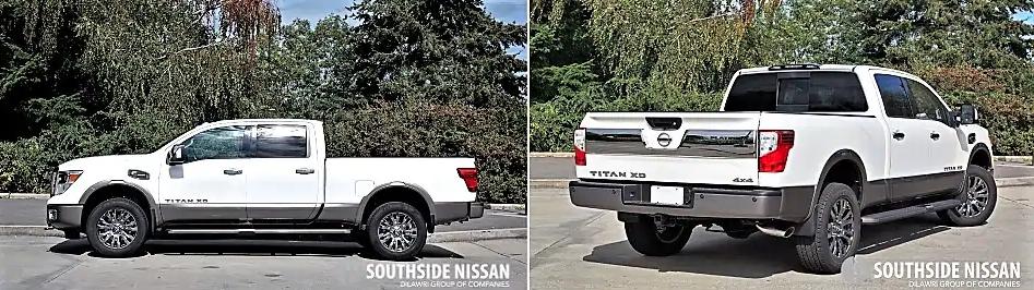 titan xd platinum diesel - side and back
