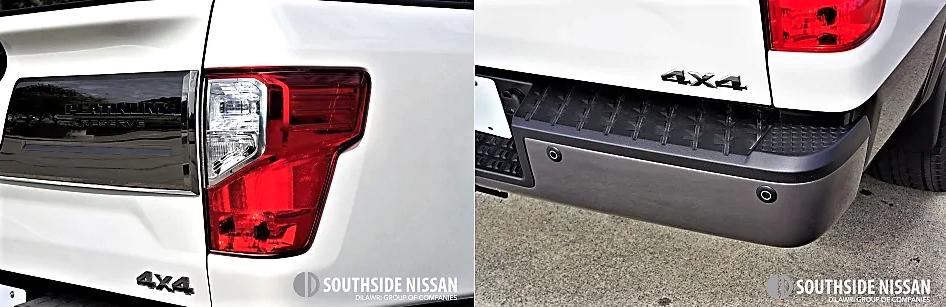 titan xd platinum diesel - backlights and step