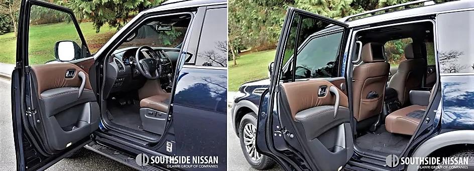 armada platinum - doors