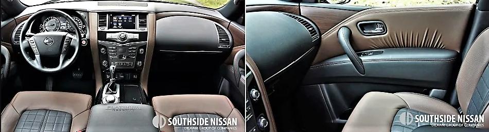armada platinum - dahsboard and passenger side