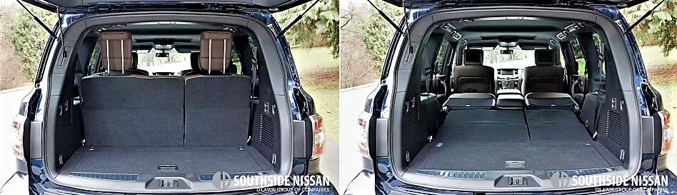 armada platinum - trunk
