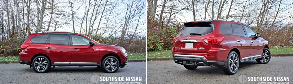 pathfinder platinum - side and back